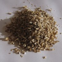 Closeup of Ground Maris Otter Malt